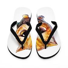 Real Men Love Cats Flip Flops