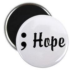 Hope Semicolon Magnet