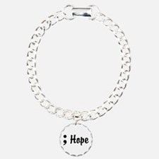Hope Semicolon Bracelet