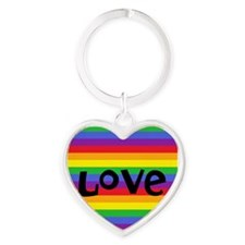 love rainbow accessories Keychains