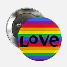 """love rainbow accessories 2.25"""" Button"""