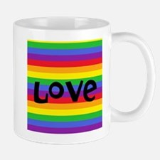 love rainbow accessories Mugs