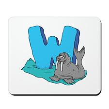 W For Warus Mousepad