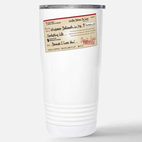 Paid in Full Stainless Steel Travel Mug