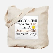 Summer Girl Tote Bag