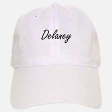 Delaney surname artistic design Baseball Baseball Cap