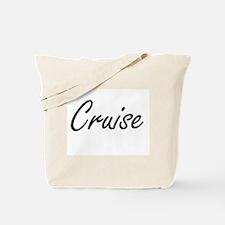 Cruise surname artistic design Tote Bag
