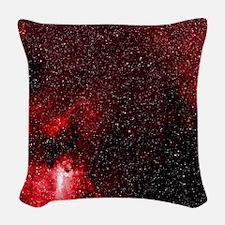 Dragon's Lair Nebula Woven Throw Pillow