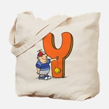 Y For Yoyo Tote Bag