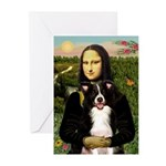 Mona & Border Collie Greeting Cards (Pk of 20)