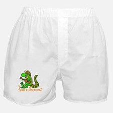 I want to be loved by you Iguana Boxer Shorts
