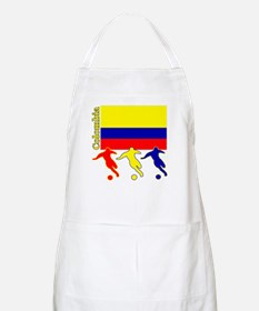Colombia Soccer BBQ Apron