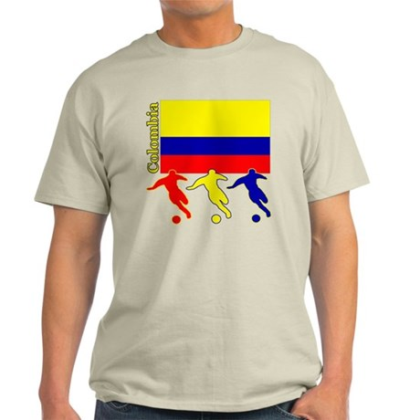 Colombia Soccer Light T-Shirt
