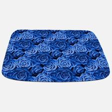 Blue Roses Bathmat