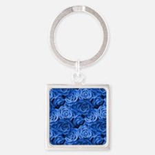 Blue Roses Keychains