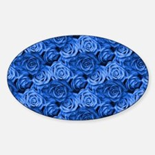 Blue Roses Decal