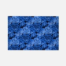 Blue Roses Magnets