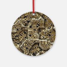 Insinde the Machine Round Ornament