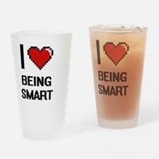 Funny Smart car Drinking Glass