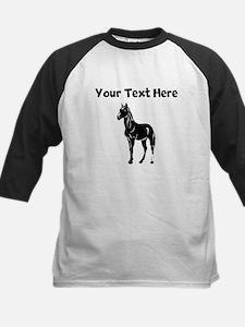 Black Horse (Custom) Baseball Jersey