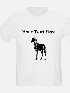 Black Horse (Custom) T-Shirt