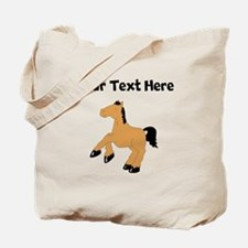 Brown Horse (Custom) Tote Bag
