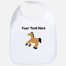 Brown Horse (Custom) Bib