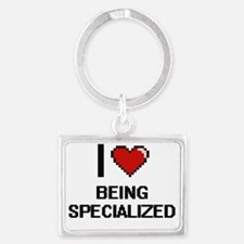 Cute Specialized Landscape Keychain