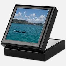 Puerto Rico Beach Keepsake Box
