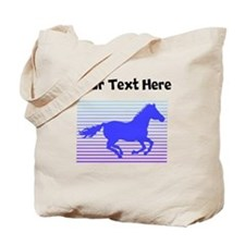 Horse Graphic (Custom) Tote Bag