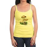 Snail in Mushroom Garden Jr. Spaghetti Tank