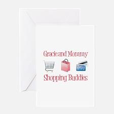 Gracie - Shopping Buddies Greeting Card