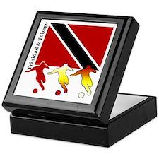 Trinidad Soccer Keepsake Box