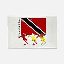 Trinidad Soccer Rectangle Magnet
