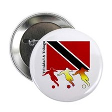 "Trinidad Soccer 2.25"" Button (10 pack)"