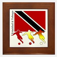 Trinidad Soccer Framed Tile
