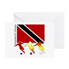Trinidad Soccer Greeting Cards (Pk of 10)