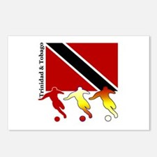 Trinidad Soccer Postcards (Package of 8)