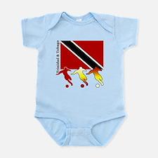 Trinidad Soccer Infant Bodysuit