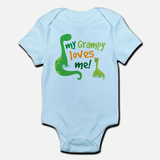 Grampy Loves Me Infant Bodysuit
