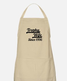 Trophy Wife Since 1996 Apron
