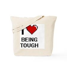 Unique Tough as nails Tote Bag