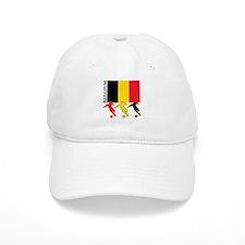 Belgium Soccer Baseball Cap