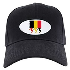 Belgium Soccer Baseball Hat