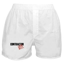 Off Duty Contractor Boxer Shorts