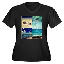Starry Caribbean Collage II Plus Size T-Shirt