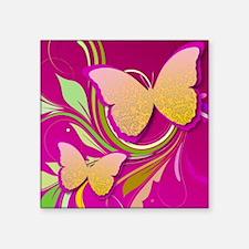 Butterfly Swirl Sticker