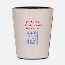 chemist Shot Glass