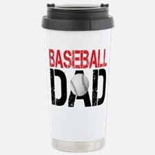 Baseballl Dad Travel Mug