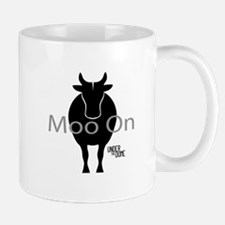 """Under the Dome """"Moo On"""" Mugs"""
